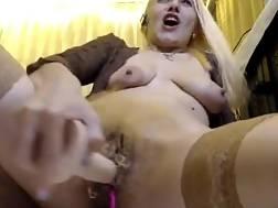 hairy vagina blond banged
